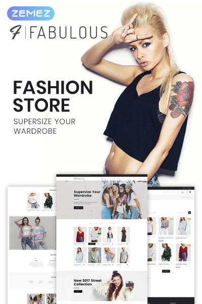 Fabulous - Fashion Store