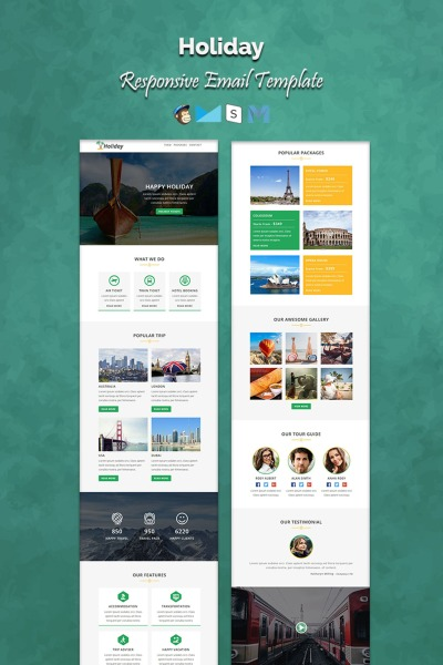 Travel Agency Newsletter Template