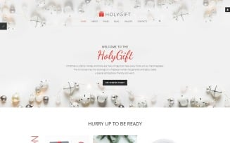 HolyGift - Christmas Gifts Store Joomla Template