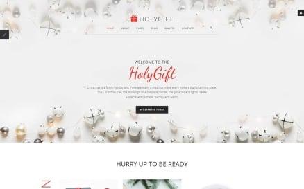 HolyGift - Christmas Gifts Store Joomla Template
