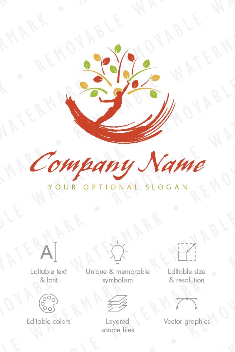 Human Tree Logo Template - screenshot