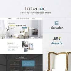 Modern Interior Design WordPress Theme #45267