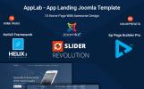 "Joomla Vorlage namens ""Applab - App Landing"""