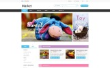 """Market - Multipurpose Selling Products"" modèle PSD"
