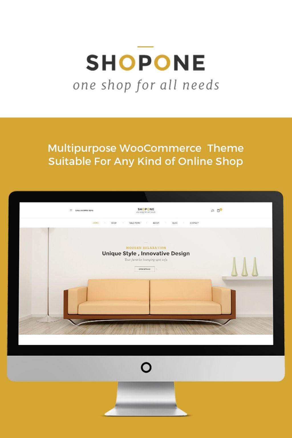 Shop One - Furniture Store WooCommerce Theme
