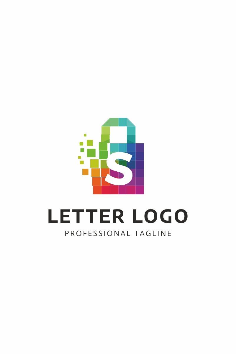 shopping logo template 66110