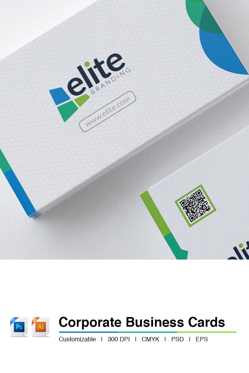 Szablon PSD Corporate Clean - Business Card #66138