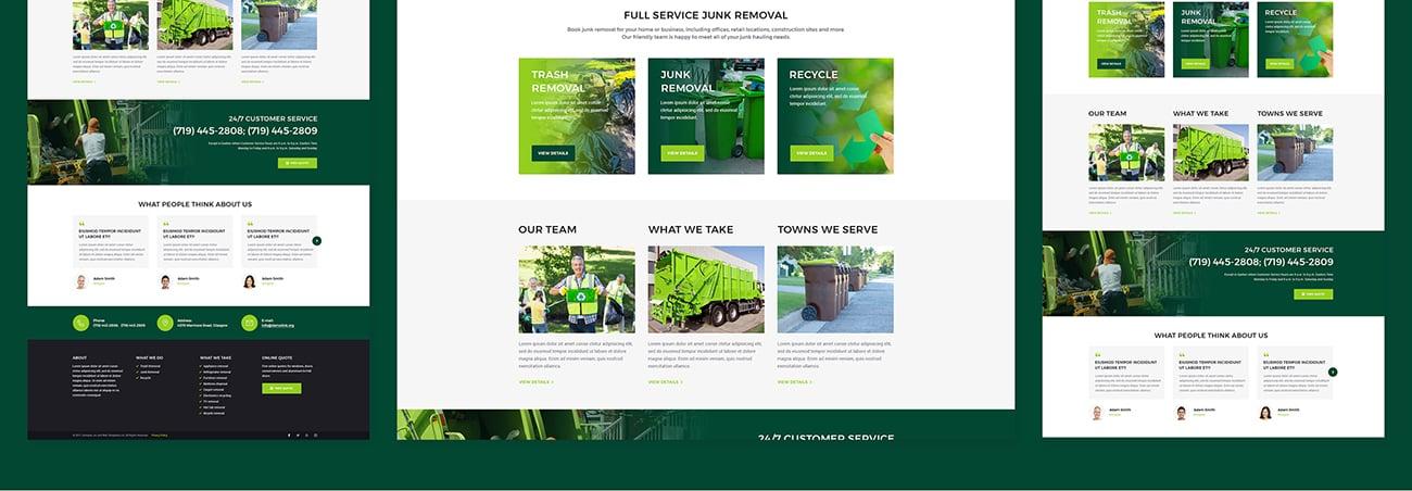 Website Design Template 66224 - blog