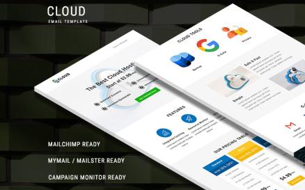 Cloud Newsletter Template