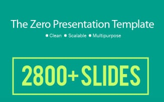 Business Infographic Presentation - Keynote template