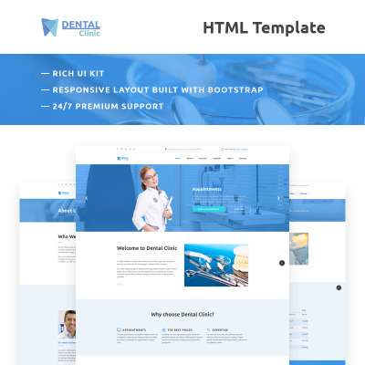 32 best dentistry website templates