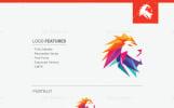 Digital Lion Logo Template