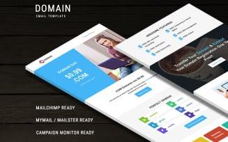 Domain Newsletter Template