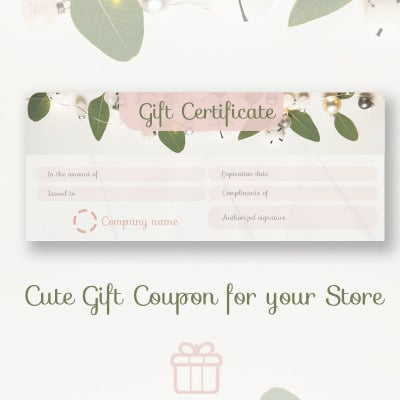 Gift coupon certificate template 66223 jewelry certificate template yadclub Images