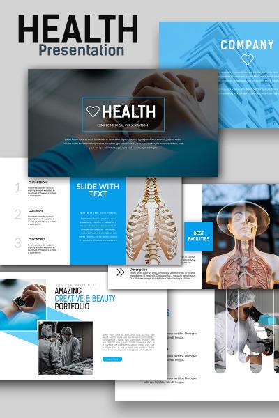 Modèle PowerPoint  pour site médical #66295