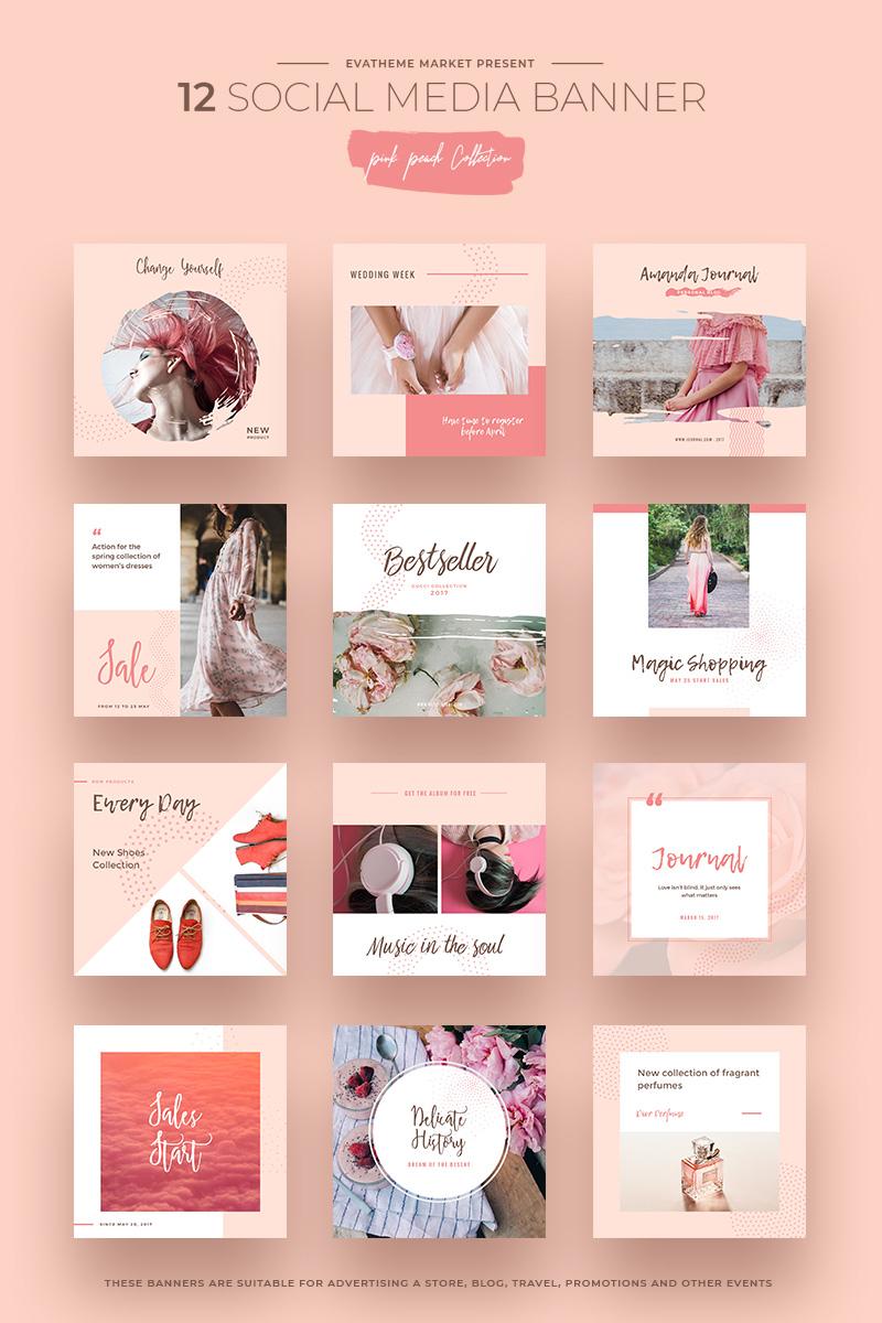 Pink peach social media designs social media 66292 pink peach social media designs social media big screenshot maxwellsz