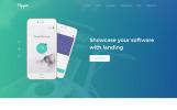 Plantilla para Página de Aterrizaje para Sitio de Software