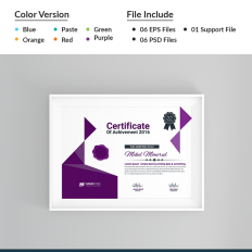 Certificate templates award certificates templatemonster sports certificate template 66293 yelopaper Images