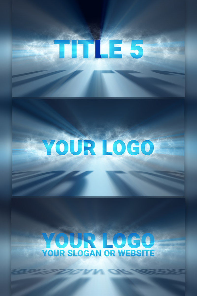 "Template test productt #66280 ""Volumetric Light Logo Reveal"""