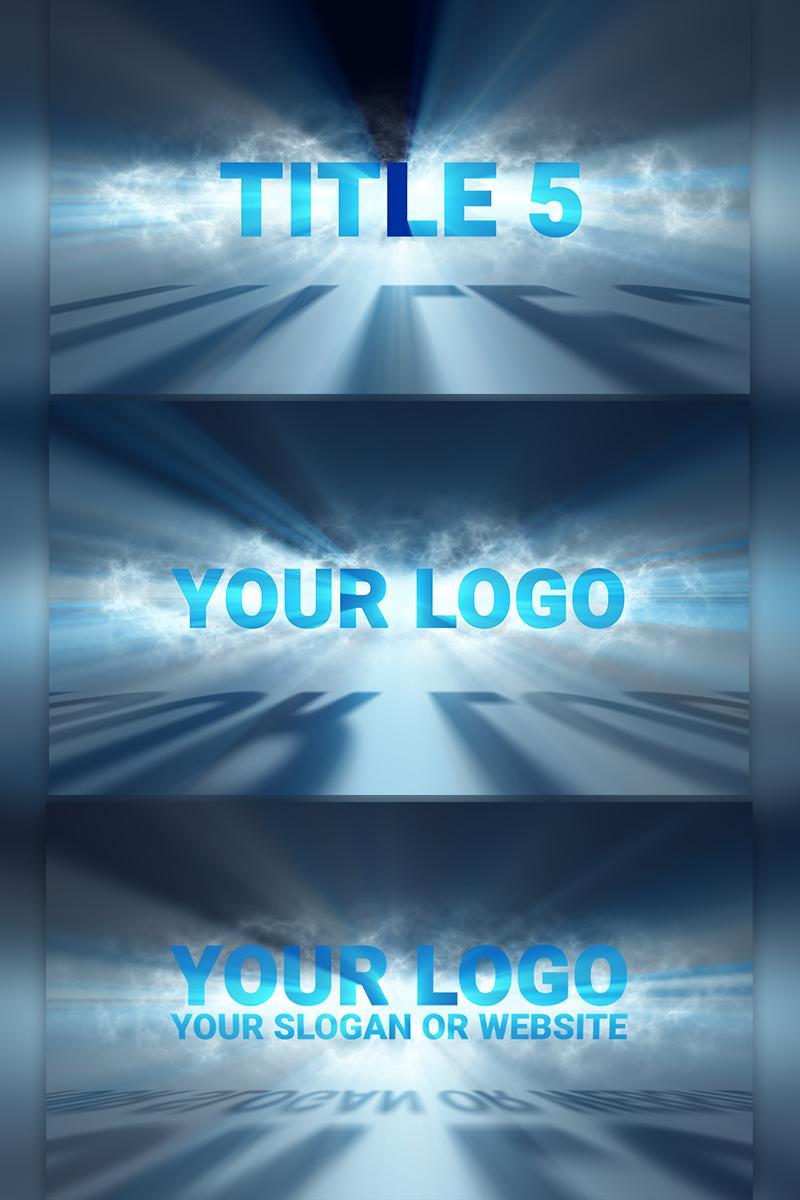 "Video Asset ""Volumetric Light Logo Reveal"" #66280"