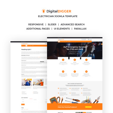 Preview image of DigitalDIGGER - Electrical Services