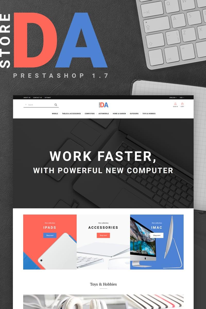 Plantilla web prestashop ideal para Electrónica - Ahora por menos de ...