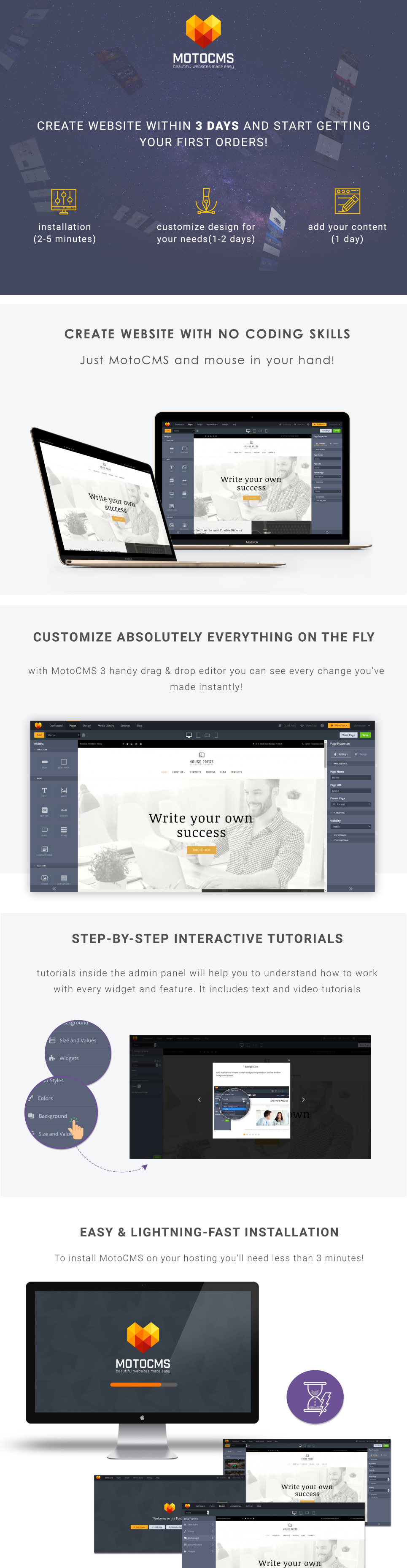 book publisher website template for publishing companies motocms