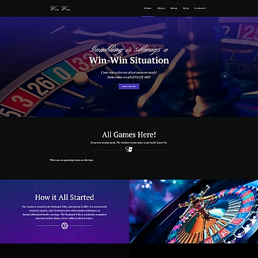 Preview image of Casino Website