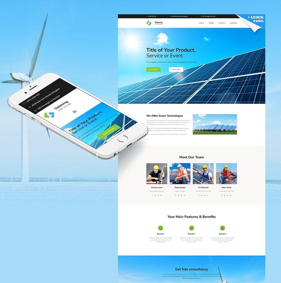 Plantilla web landing-page ideal para Más Populares - Ahora por ...
