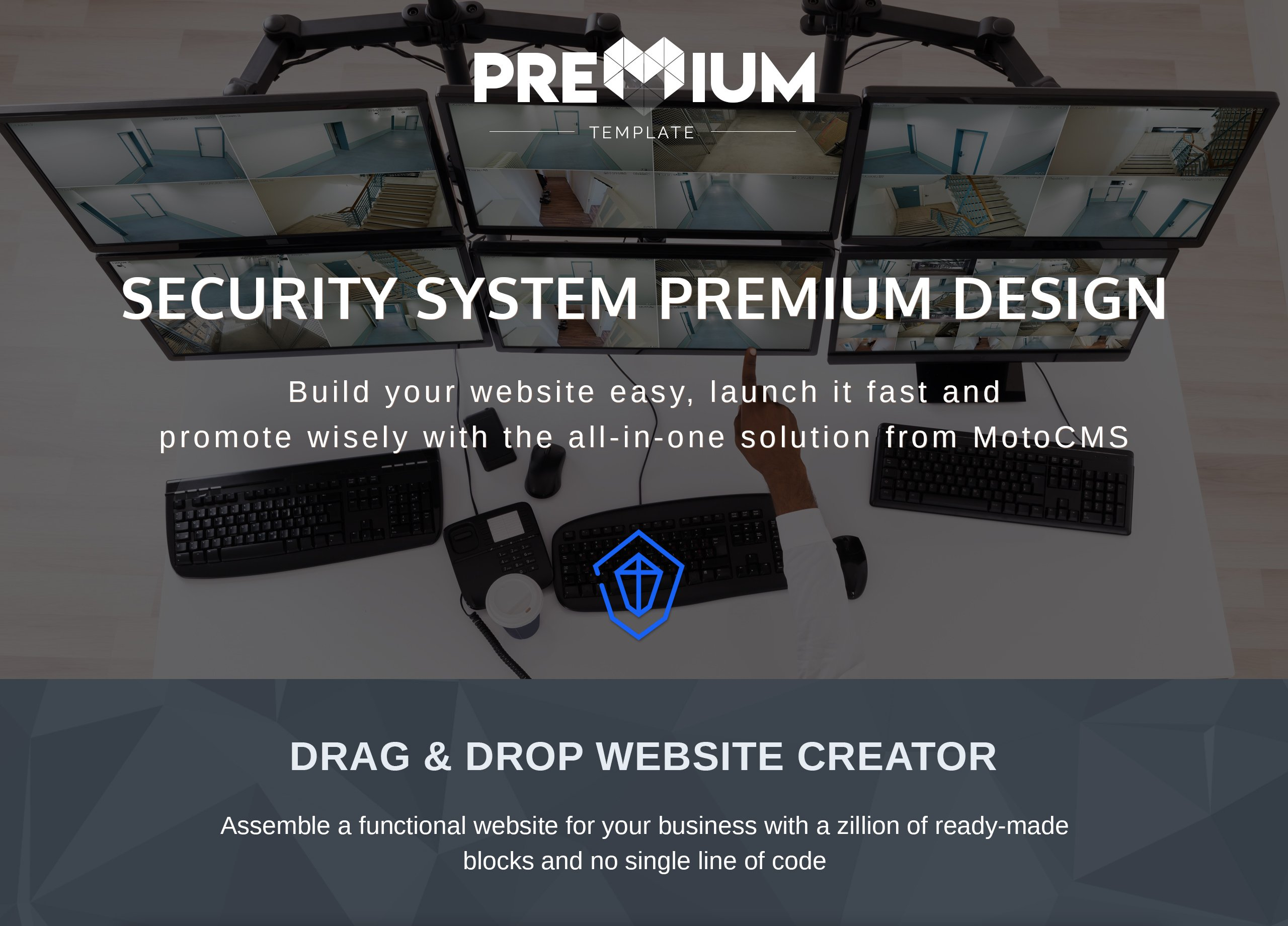 Template 66389 : Securiali - Security System Premium Moto