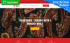 Responsivt Grill Restaurant Premium Moto CMS 3-mall New Screenshots BIG