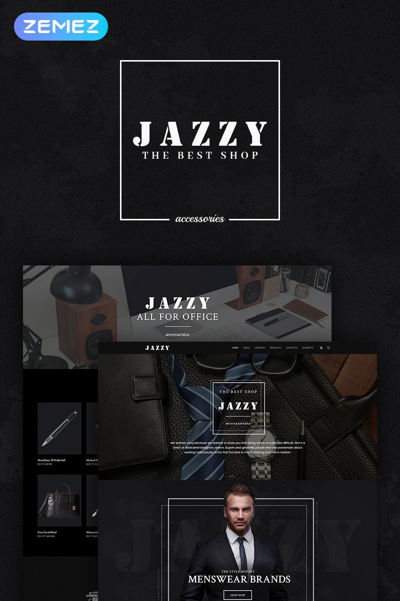Jazzy - Men's Accessories Shop №66312