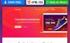 Plantilla para Página de Aterrizaje para Sitio de Agencias de marketing New Screenshots BIG