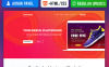 Responsywny szablon Landing Page App riori - Mobile App #66375 New Screenshots BIG
