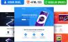 "Responzivní Šablona mikrostránek ""Appriori - Multipurpose Mobile App"" New Screenshots BIG"