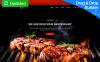 "Responzivní Šablona mikrostránek ""Steakon - BBQ Restaurant MotoCMS 3"" New Screenshots BIG"