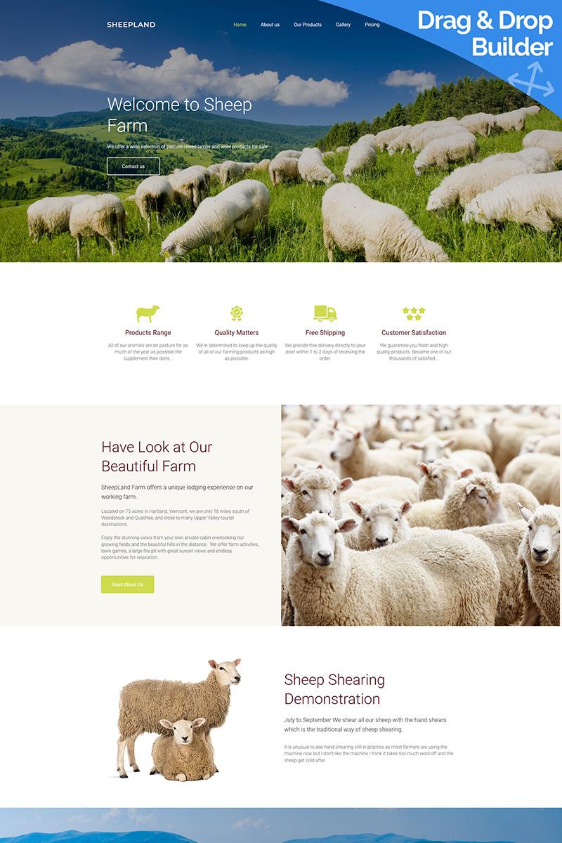Sheepland Premium Templates Moto CMS 3 №66397
