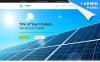"""Solar Energy MotoCMS 3"" Responsive Landingspagina Template New Screenshots BIG"
