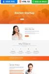 MotoCMS 3 šablona vstupní stránky pro startup