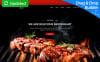 Steakon - BBQ Restaurant MotoCMS 3 Templates de Landing Page  №66385 New Screenshots BIG