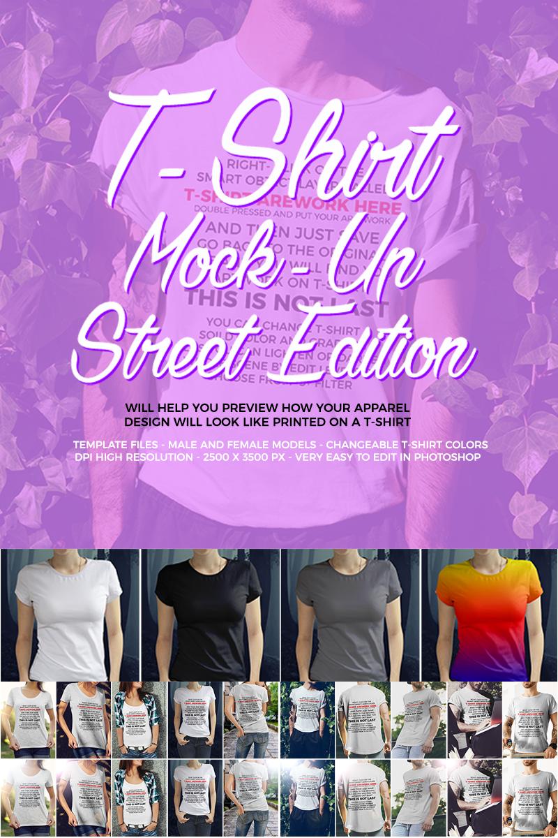 """""""T-Shirt  / Street Edition"""" - T-shirt №66316"""