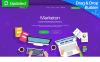 "Tema di Landing Page Responsive #66381 ""Content Marketing"" New Screenshots BIG"