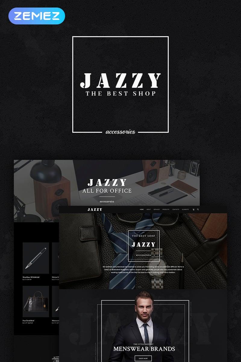 "Tema WooCommerce ""Jazzy - Men's Accessories Shop"" #66312"