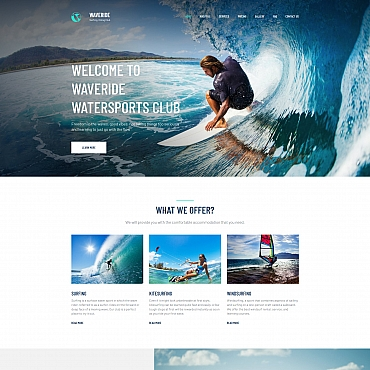 Preview image of Waveride - Surfing Club