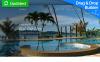Responsivt Moto CMS 3-mall för resebyrå New Screenshots BIG