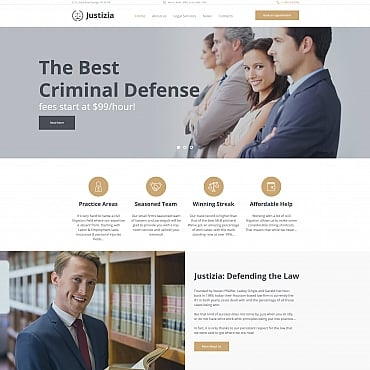 Preview image of Justizia - Lawyer Services
