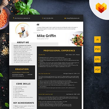Preview image of Mike Griffin - Executive Chef