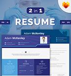 Resume Templates #66433 | TemplateDigitale.com