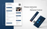 Alex Schwartz - Fitness Instructor Resume Template