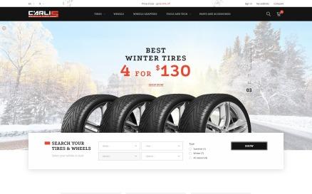 Carlis - Wheels & Tires Shop PrestaShop Theme